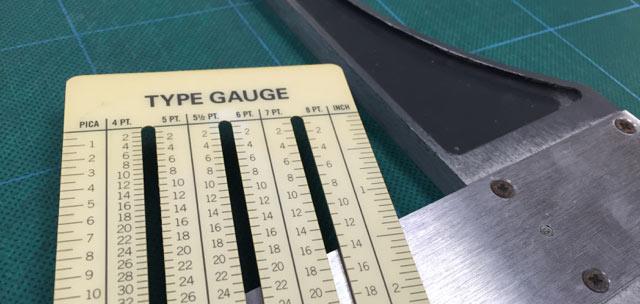 Type Gauge